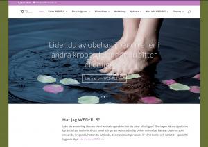 Webbsida för WED-förbundet