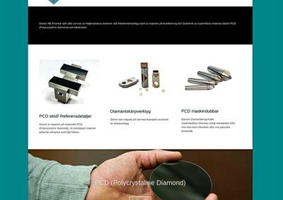 Ny webbsida med bilder för Dianor AB