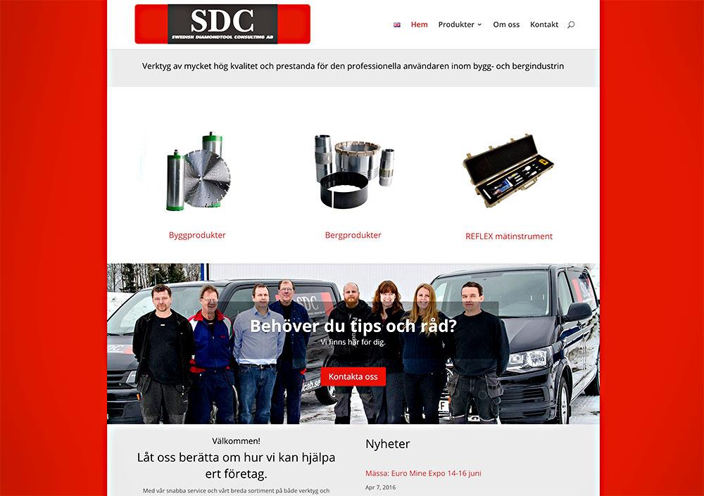 Ny webbsida med bilder för SDCAB i Nora.