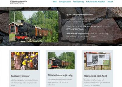 Webbsida för NJOV