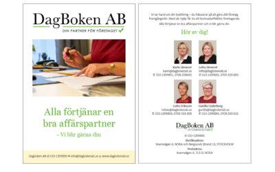 Ny folder för Dagboken AB