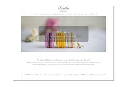Ny webbsida för Franska bröllop