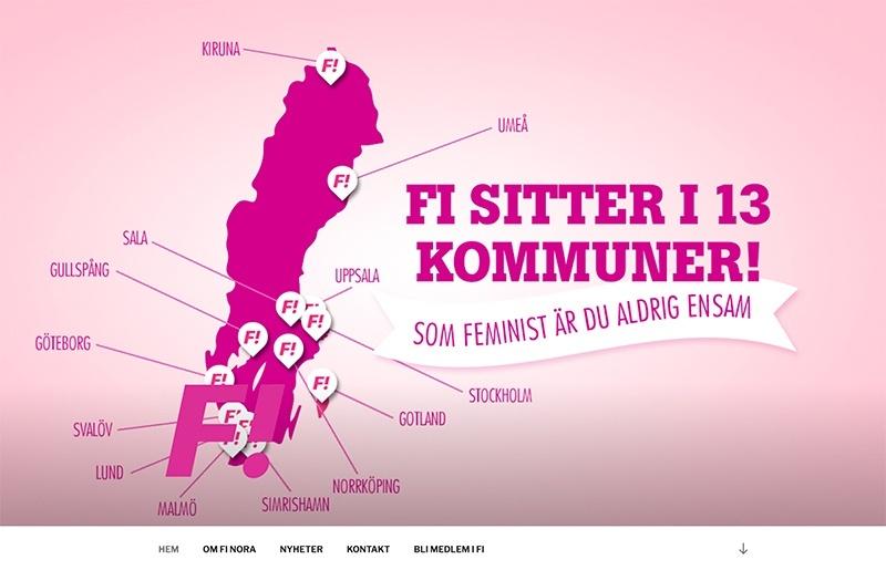 Webbsida för FI Nora