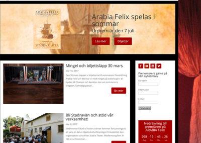 Ny webbsida för Stadra Teater