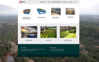 Webbsidan för Framtec AB är sjösatt