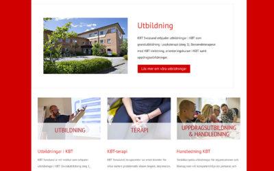 Sjösättning av webbsidan för KBT Svealand