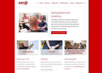 Ny webbsida för KBT Svealand