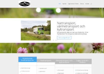Ny webbsida för Direktbud Örebro
