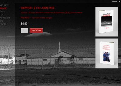 Webbsida för Jonas Inde