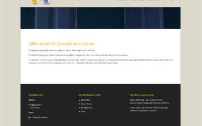 Webbsida Circad International