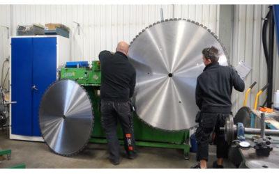 Vi har filmat tillverkningen av diamantverktyg på SDC AB i Nora