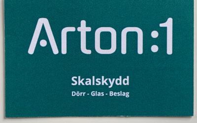 Webbsida för Arton:1