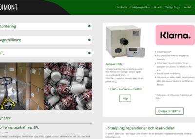 Dimonts webbutik för radonsugar