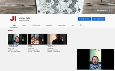 Jonas Inde på YouTube