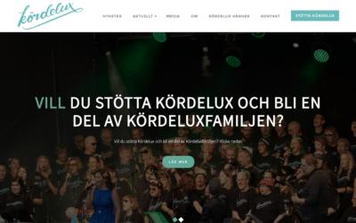 Webbsida för Kördelux