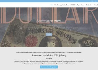 Redesign av Stadra Teaters webbsida