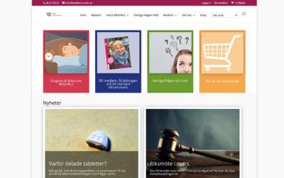 WED-Förbundets webbsida