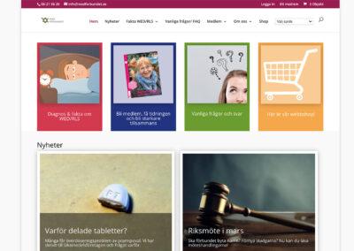 Ny webbsida för WED-förbundet