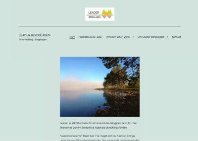 Ny webbsida för Leader Bergslagen