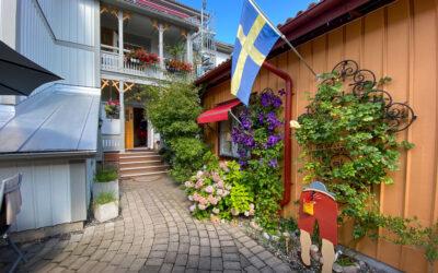Lilla Hotellets innergård