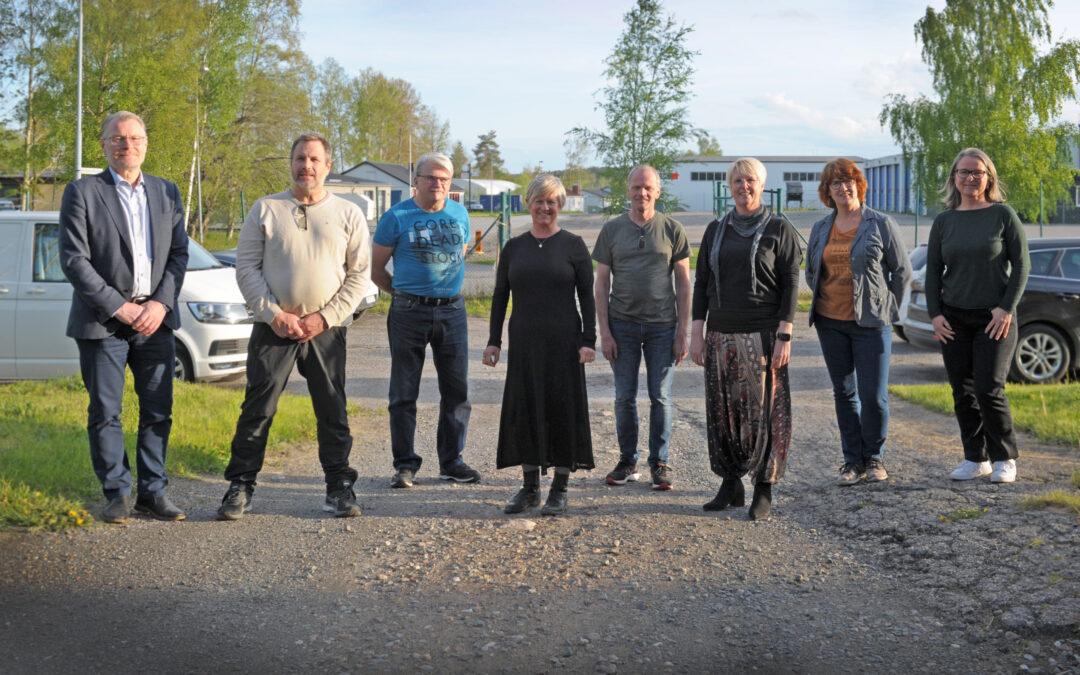Styrelsen Företagarna Nora 2021. Foto S. Rickan